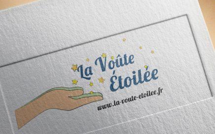 Logo et site internet la voute etoilee